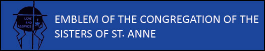 Emblem of the Congregation of the Sisters of St. ANNE